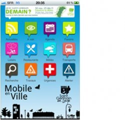 Saint-Germain-en-Laye lance son application  « Mobile en Ville » sur iPhone et iPad